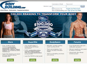 Body building coupon code